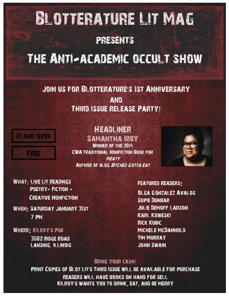 Blot anti academic occult show flyer-page-001